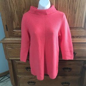 Ann Taylor Loft Coral Sweater